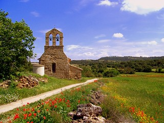 old church, somewhere near Cardona, Spain