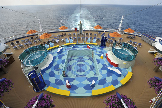 carnival dream lido deck aft pool flickr photo sharing