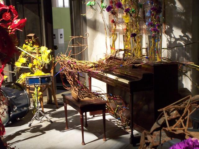 floral jazz pianist