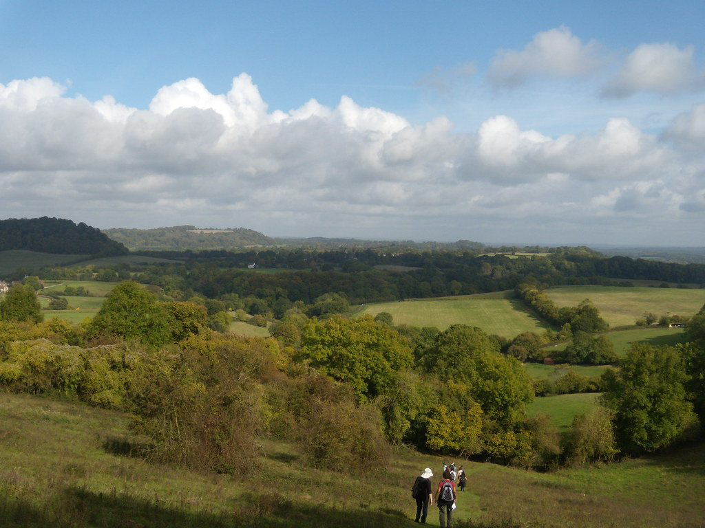 View from the other side Shoulder of Mutton Hill. Petersfield to Liss