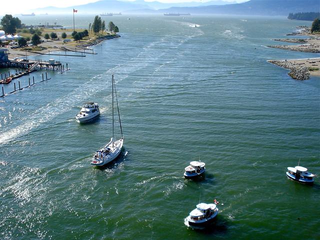 False Creek marine traffic