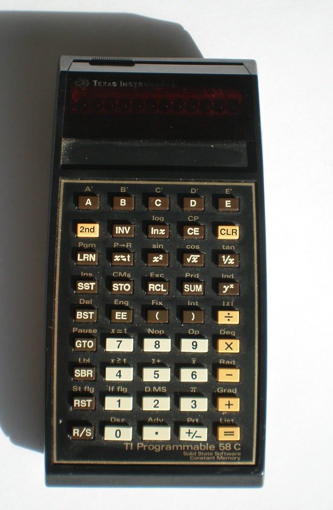 Texas Instruments TI-58C