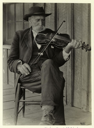 A mountain fiddler.