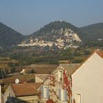 A view of Seguret from Sablet