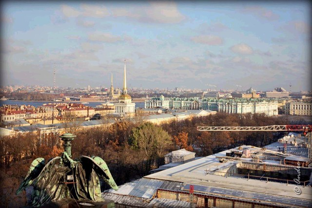 Russia, St. Petersburg, from St. Isaac's Cathedral