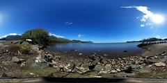 From the Kahalu'u Beach Park - a 360° Equirectangular VR