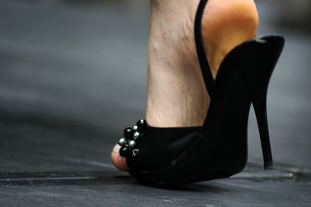 Awkward heel