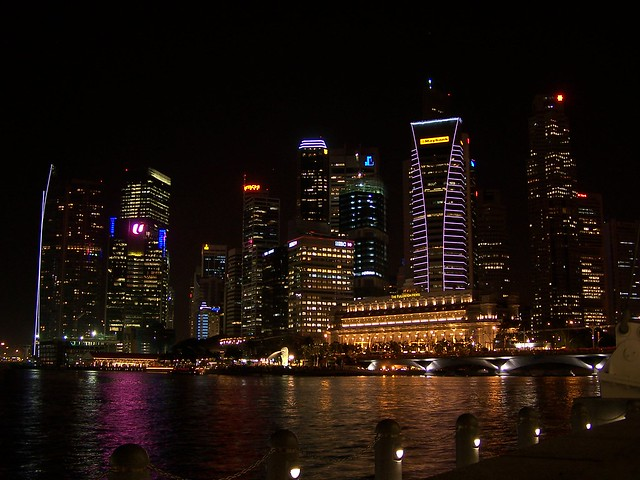 singapore from the esplanade