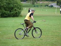 Impromptu Bike Polo!