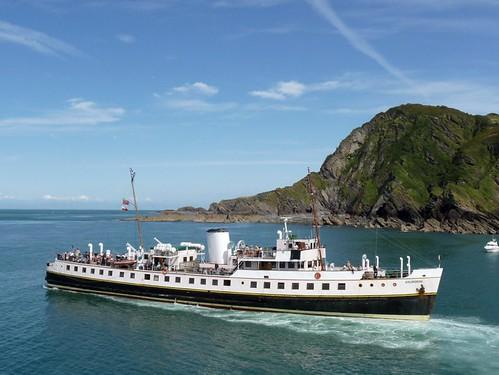 Balmoral steam ship