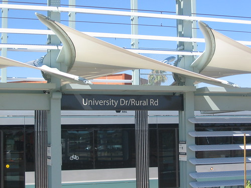 University Dr/Rural Rd Light Rail Station