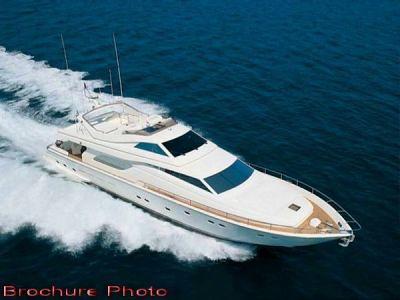 Ferretti 80 RPH. Planning Motor Yacht with Flying Bridge