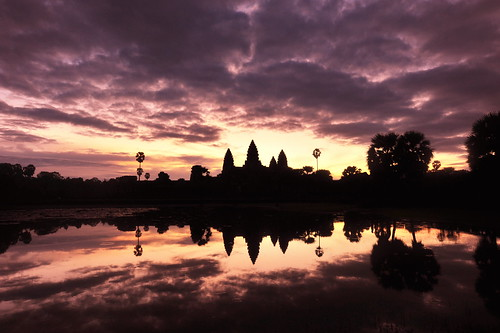 Sunrise of Ankor Wat