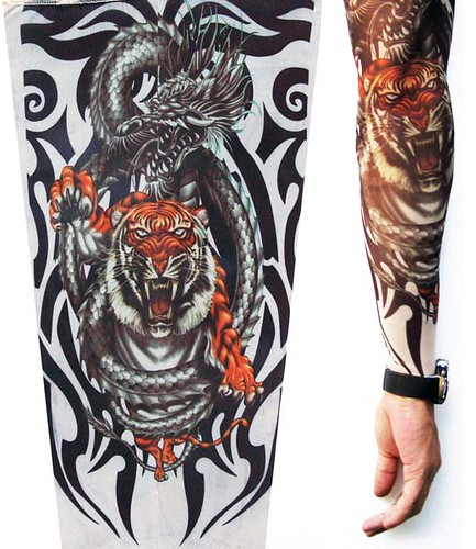 Bullyvard Tattoo Sleeves Fierce Tiger Tattoo Flickr Photo Sharing