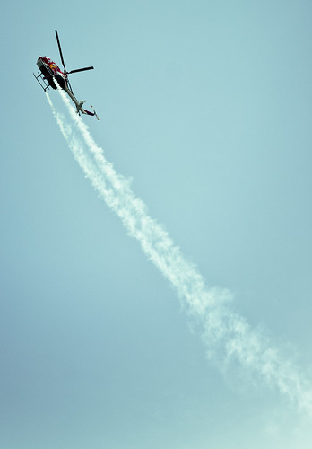 OC needs to put titles in the flickr account - OC Airshow- Redbull team's Stunt Helicopter
