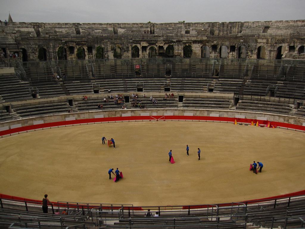 Amphitheatrum in Nimes