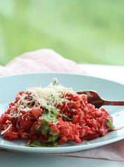 Baked beet risotto / Ahjurisoto peediga