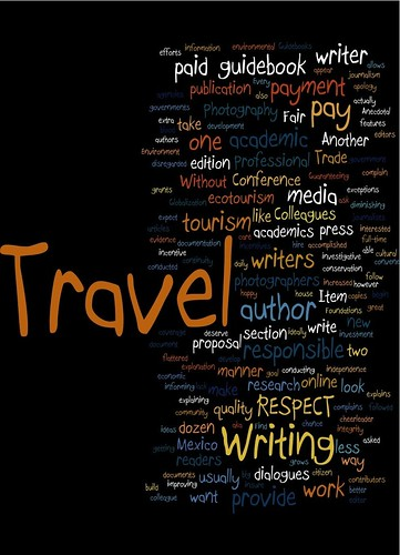 Fair Trade in Travel Writing and Photography (wordle)