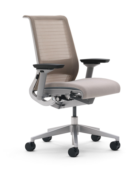 workalicious think chair by steelcase. Black Bedroom Furniture Sets. Home Design Ideas