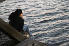 . Alone .