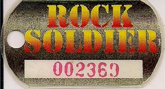 Ace Frehley - Rock Soldiers Dogtag