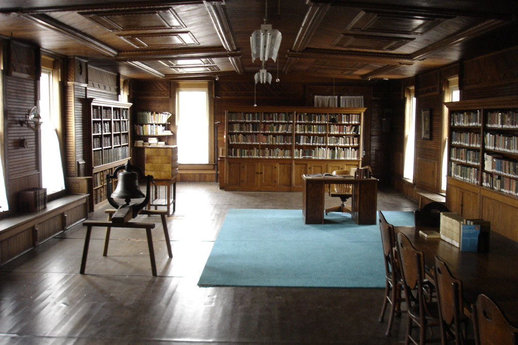 Old library room