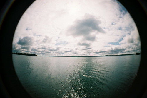 ontario canada water st clouds river joseph island lomo lomography fisheye landing marys richards matthews algoma