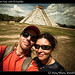 Us in Chichen Itza, with El Castillo