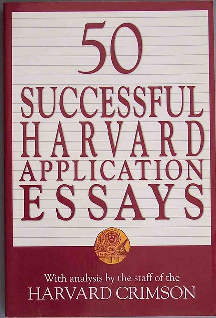 harvard essay that worked