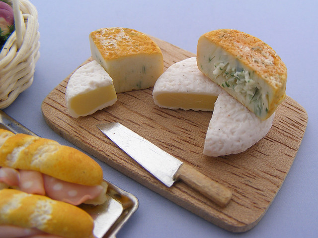 Brie and Stilton