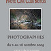 Exhibition 2 october to 26 October at Biot