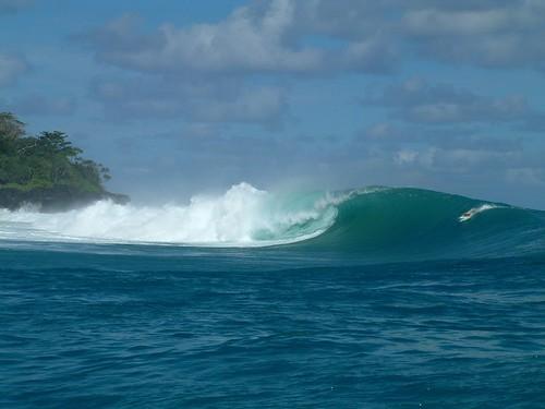 Boulders Surf Spot, Aganoa Beach - Samoa
