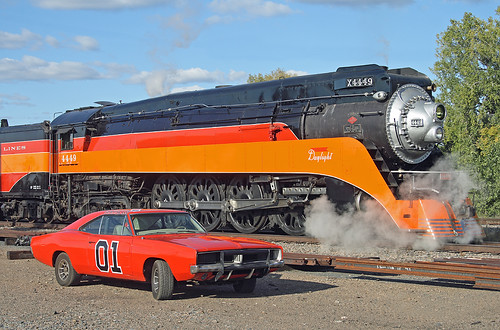 4449 and the General Lee