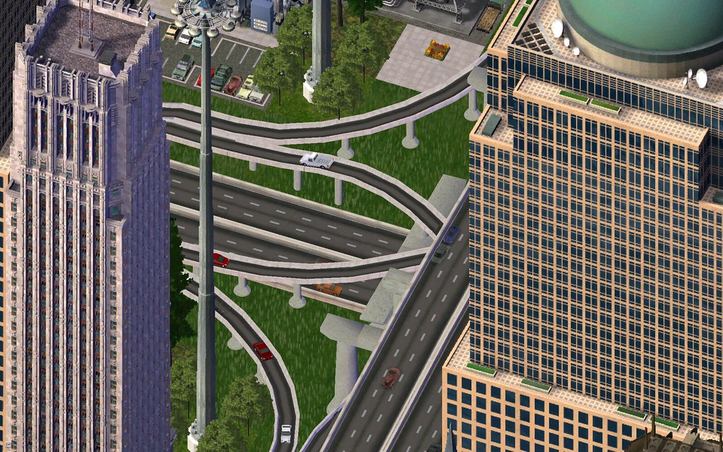 sim city 4 Flyovers