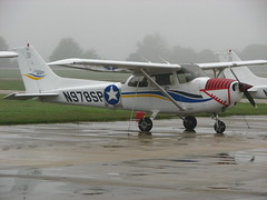 aviation, airplane, propeller driven aircraft, wing, vehicle, cessna 172, ultralight aviation,