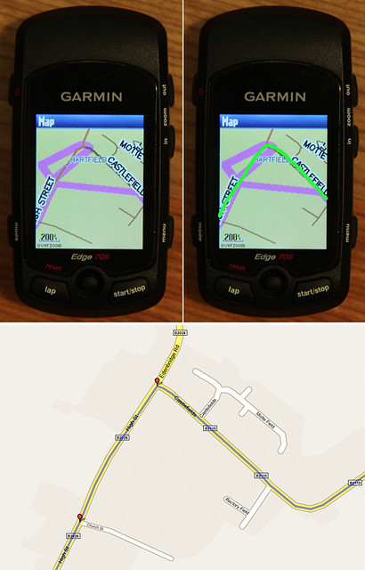 Garmin route error - small