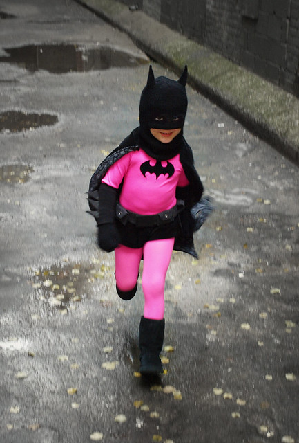 static pink batman - photo #32