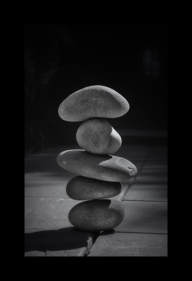 Photography: Pebble Balancing by Nicholas M Vivian