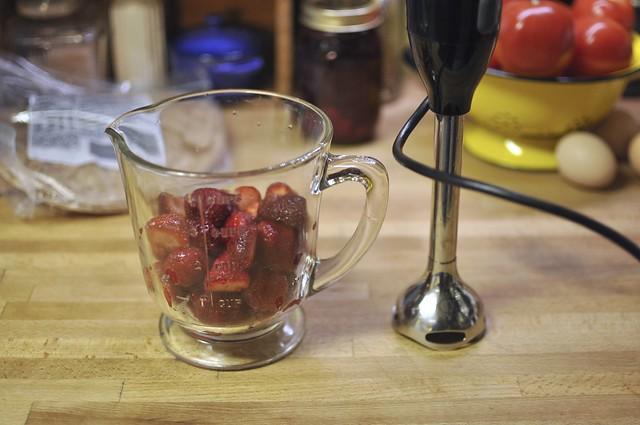 high tech berry masher