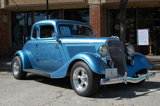 1934 ford 5 window coupe american graffiti salute in for 1934 ford 5 window