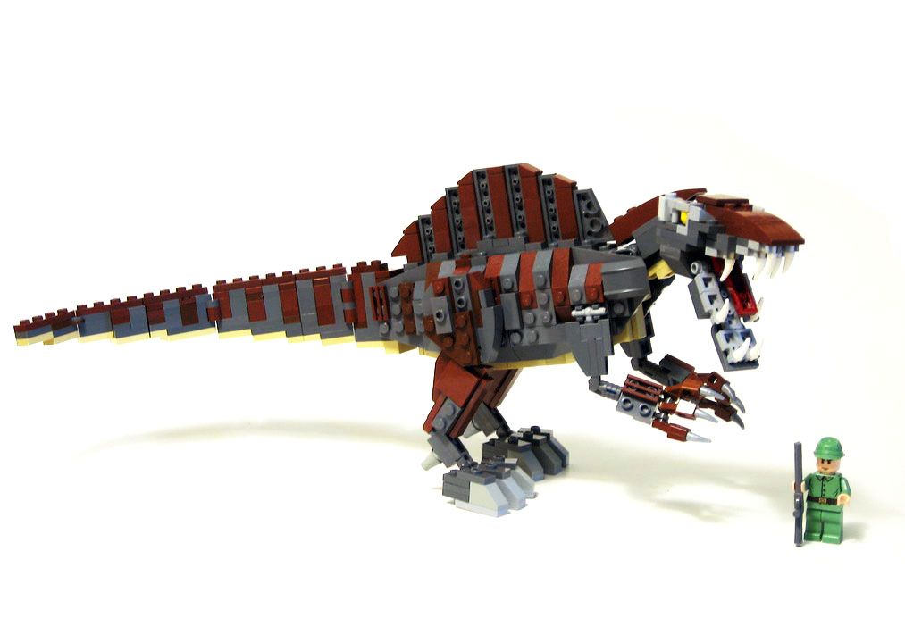A little photoshop flickr photo sharing - Lego dinosaurs spinosaurus ...