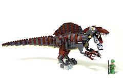 A little photoshop psiaki tags lego dinosaur jurassicpark moc spinosaurus - Lego dinosaurs spinosaurus ...