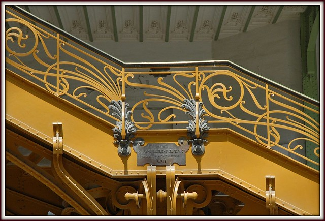 d tail de l 39 escalier d 39 honneur art nouveau du grand palais flickr photo sharing. Black Bedroom Furniture Sets. Home Design Ideas
