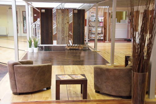 Floorless richard mckay of mckay hardwood flooring on for Showroom flooring ideas