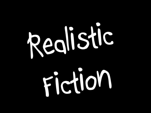 Realistic Fiction | Flickr - Photo Sharing!