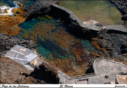 Videos y fotos del hierro piscina natural pozo de las for Piscina puerta del hierro
