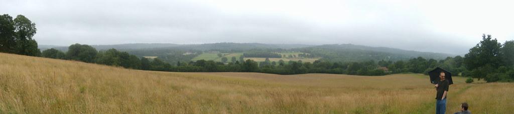 View, nearing Hartfield. Ashurst to Hartfield