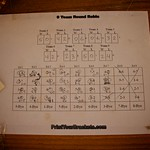 Round Robin Worksheet