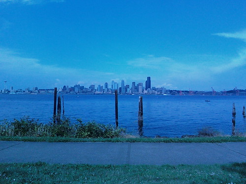 From West Seattle
