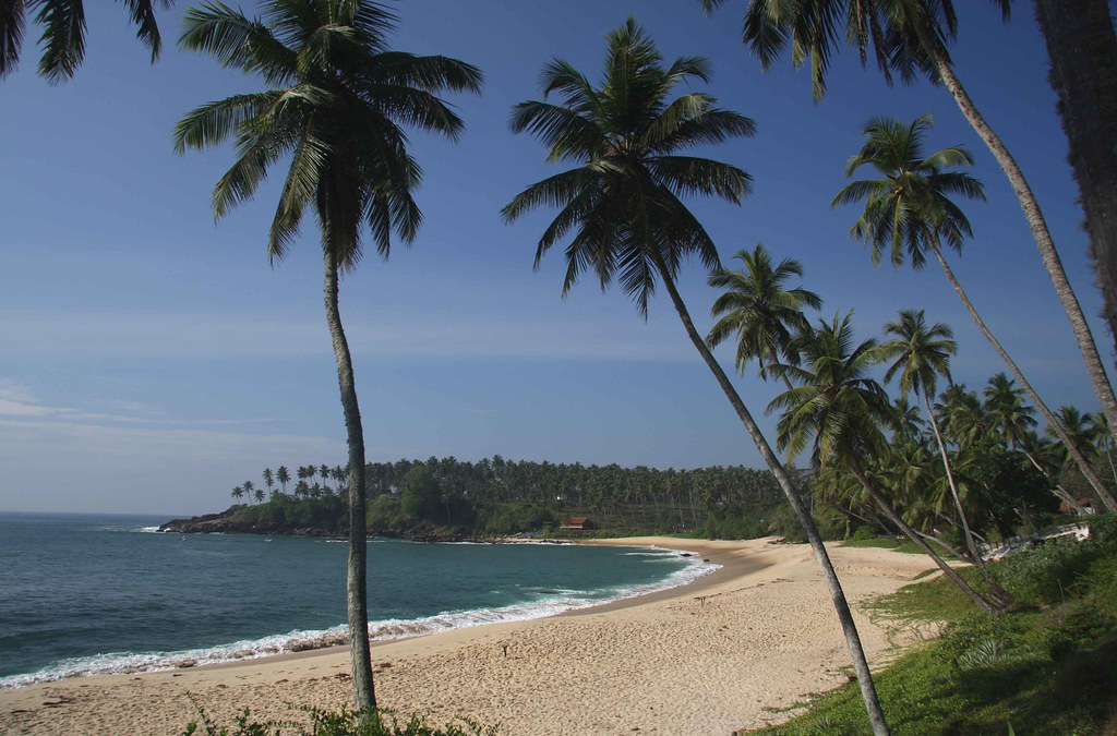 Tangalla пляж
